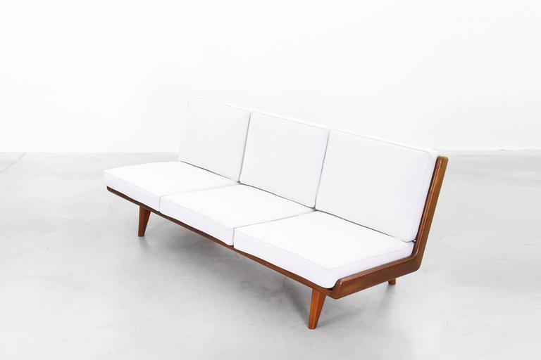 20th Century Beautiful Sofa by Carl Gustaf Hiort Af Ornäs, Sweden, 1950 For Sale