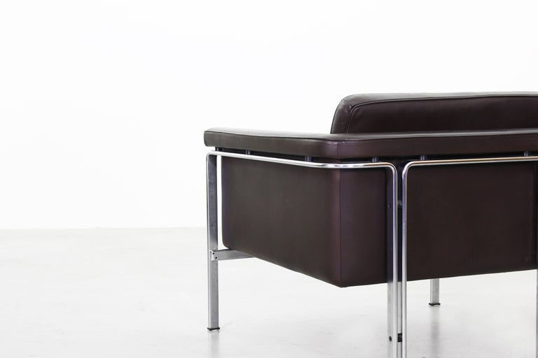 Beautiful Pair of Lounge Chairs by Horst Bruning for Alfred Kill International For Sale 1