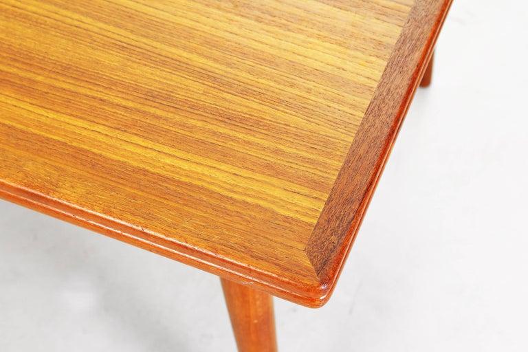 Dining Table by Hans J. Wegner for Andreas Tuck Denmark AT 312, Denmark, 1950s For Sale 1