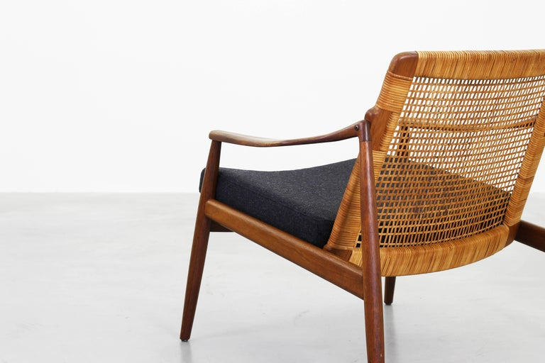 20th Century Beautiful Pair of Lounge Easy Chairs by Hartmut Lohmeyer for Wilkhahn 'b' For Sale