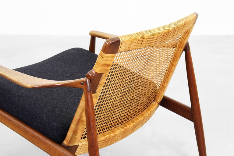 Beautiful Pair of Lounge Easy Chairs by Hartmut Lohmeyer for Wilkhahn 'b' For Sale 1