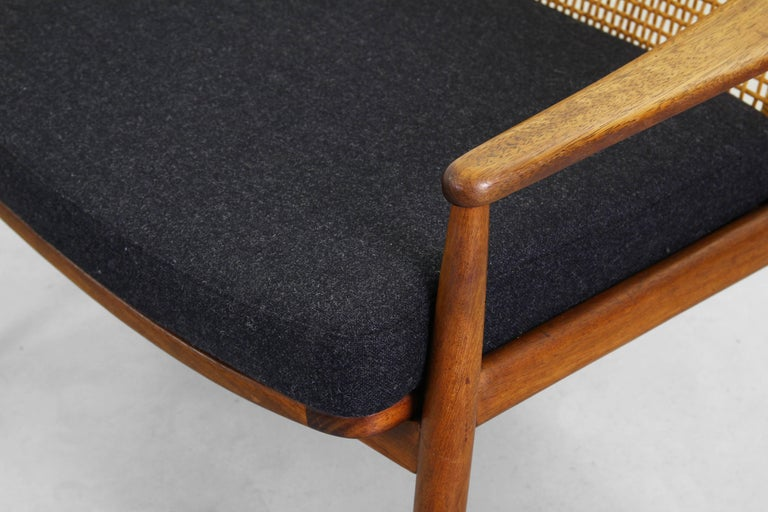 Beautiful Pair of Lounge Easy Chairs by Hartmut Lohmeyer for Wilkhahn 'b' For Sale 3