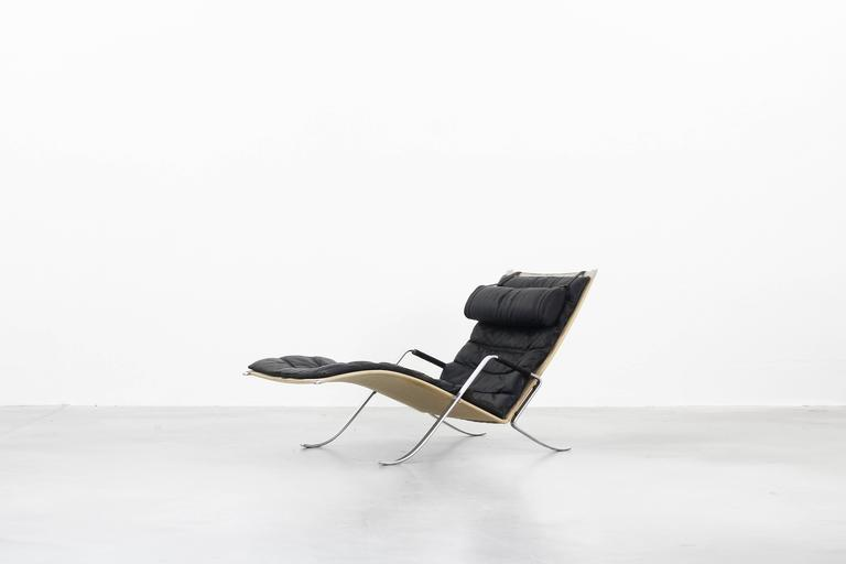Original grasshopper chaise lounge by fabricius kastholm for Charles eames kopie