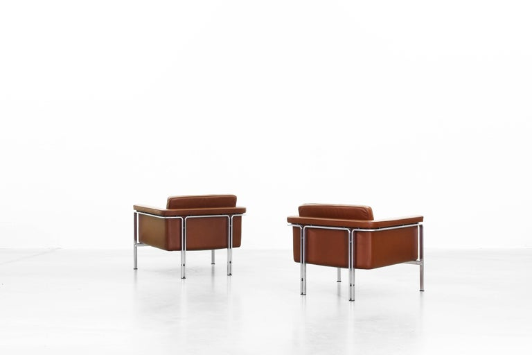 German Lounge Chairs by Horst Brüning for Alfred Kill International For Sale