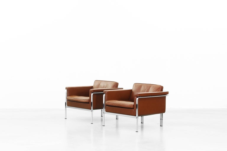 Lounge Chairs by Horst Brüning for Alfred Kill International In Excellent Condition For Sale In Berlin, DE