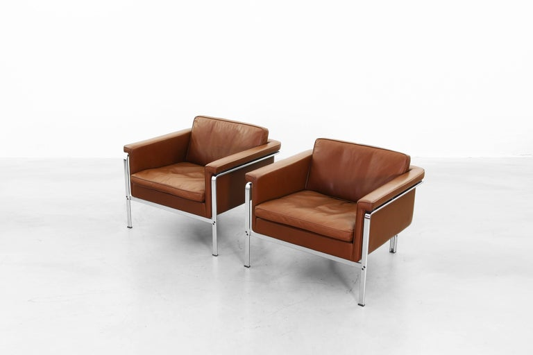 Lounge Chairs by Horst Brüning for Alfred Kill International For Sale 2
