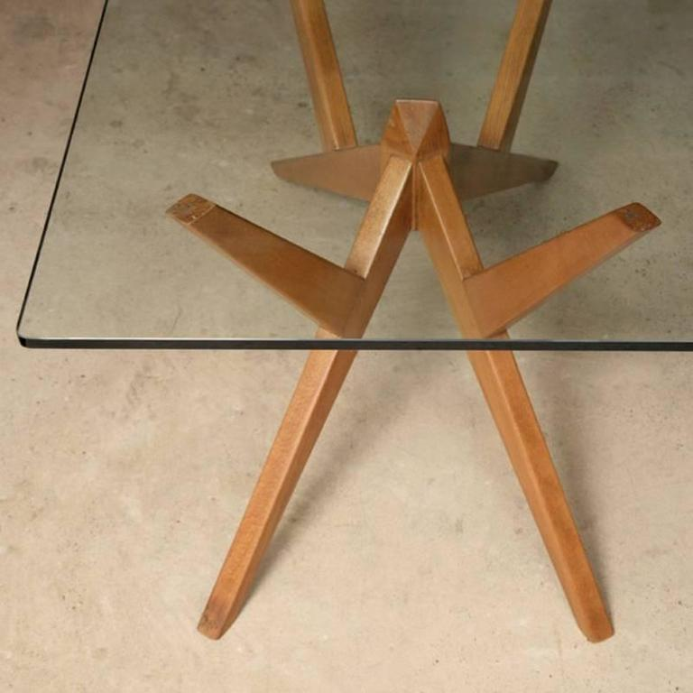 Mid-20th Century Occasional Table in the Style of Mollino, Italian, 1950s For Sale