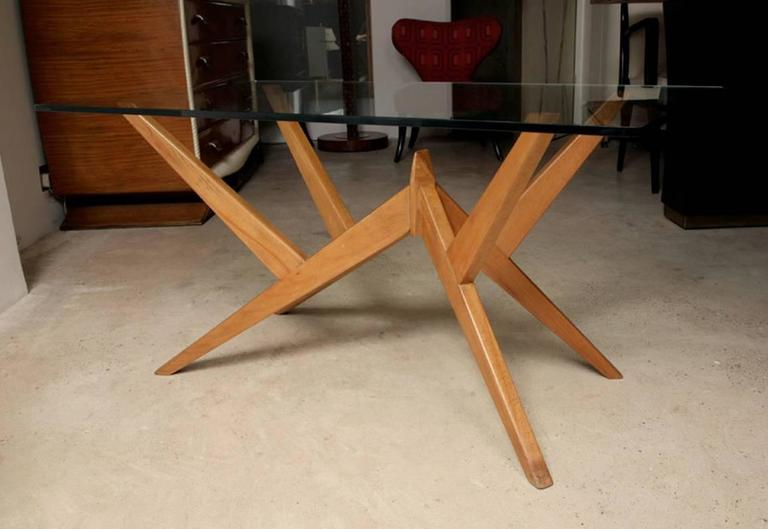 Occasional Table in the Style of Mollino, Italian, 1950s For Sale 1