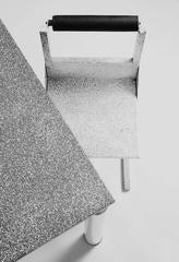 "1979, Sacha KETOFF, ""Elektrika"" Memphis table and Six chairs"
