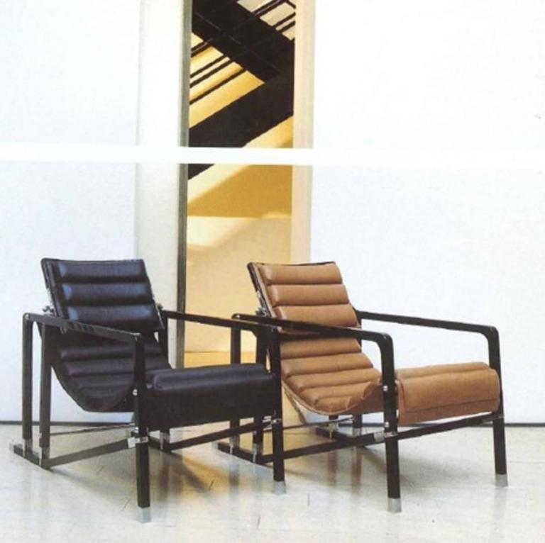 Iconic Transat Chair by Eileen Gray, Manufactured by Aram ... |Eileen Gray Furniture