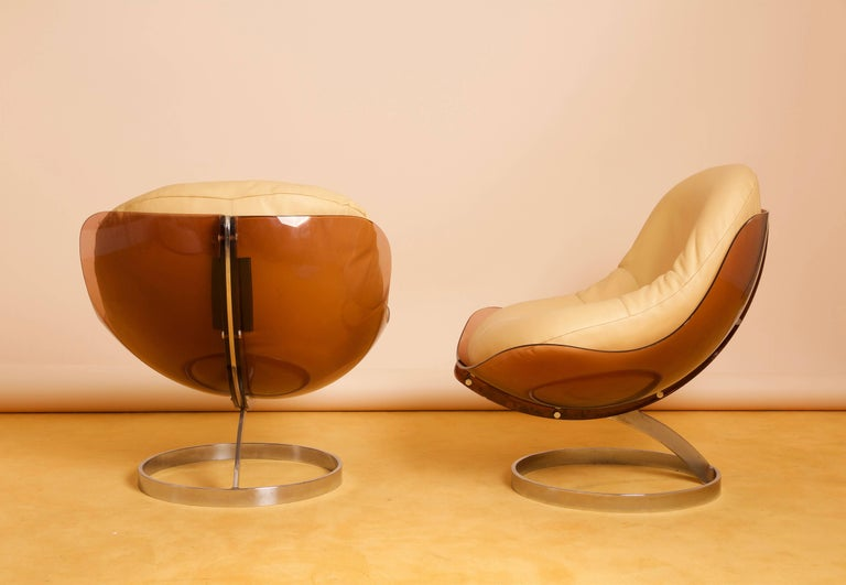 Boris Tabacoff Sphere Lounge Chair By Mmm 1971 At 1stdibs