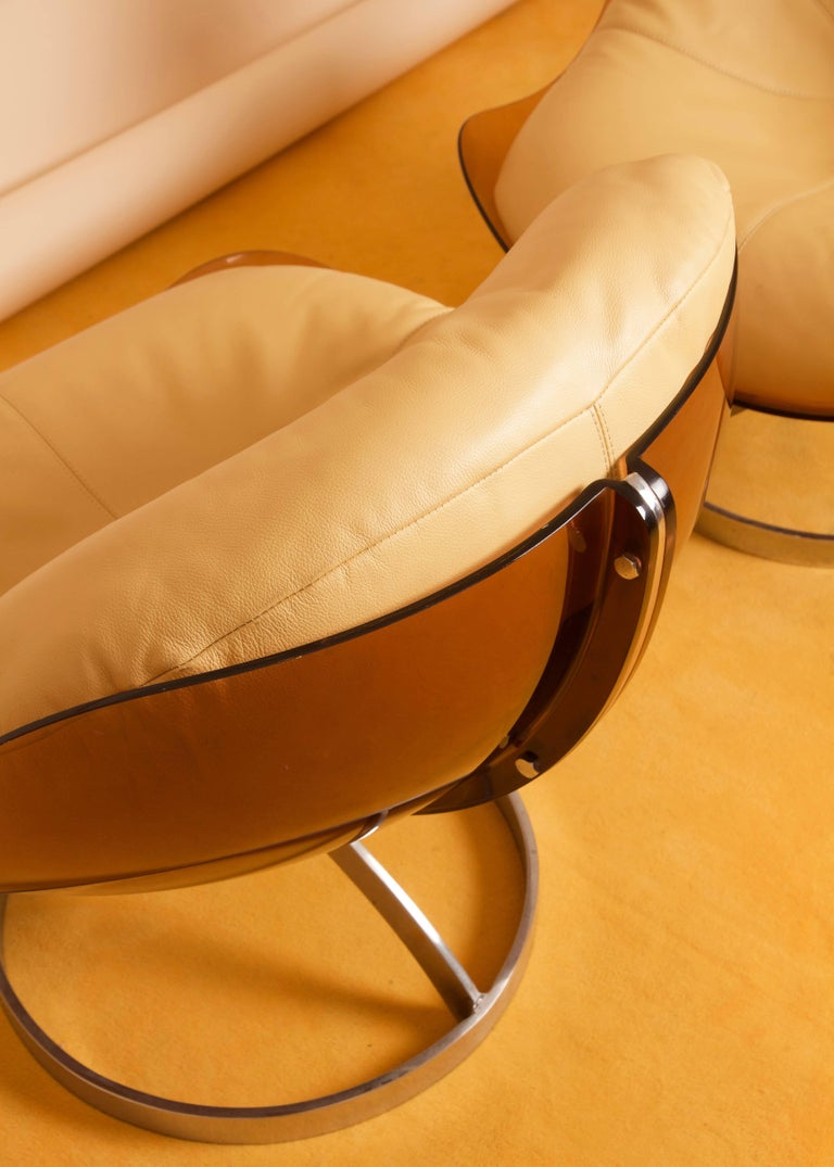 Boris Tabacoff Sphere Lounge Chair By Mmm 1971 For Sale