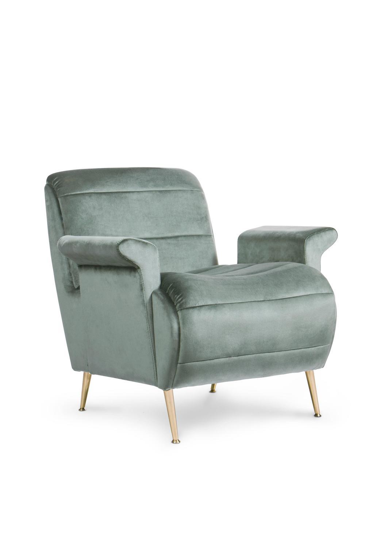 Pair of european mid century modern inspired velvet and for Designer furniture replica europe