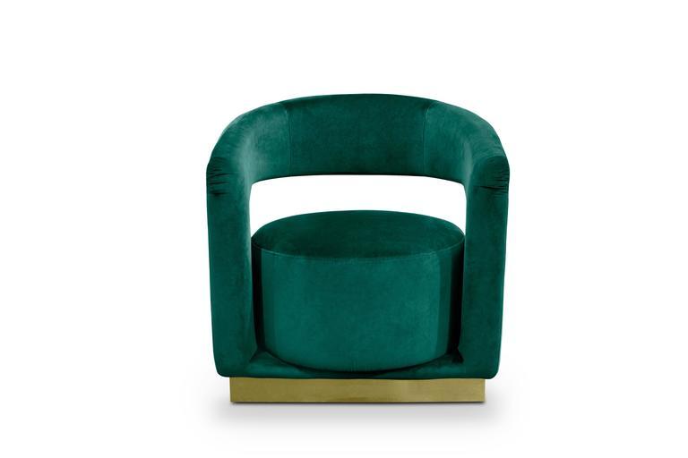Mid-Century Modern Style Sculptural Retro Brass Ellen Armchair 2