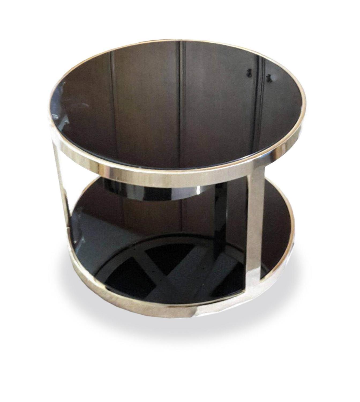 Round 3 Round Coffee Table Made Of Metal Cm ø80x23h: Dom Edizioni Luigi Round Marble Or Glass, Metal Coffee