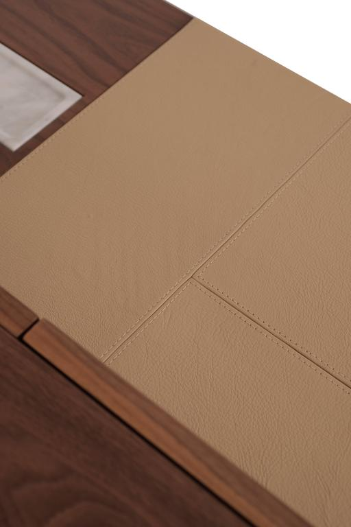 Make A Leather Inlay For A Desk