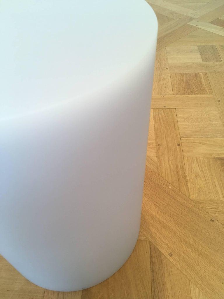 Post-Modern SOAP Column Stool or Side Table by Sabine Marcelis, Ice-Lavender For Sale