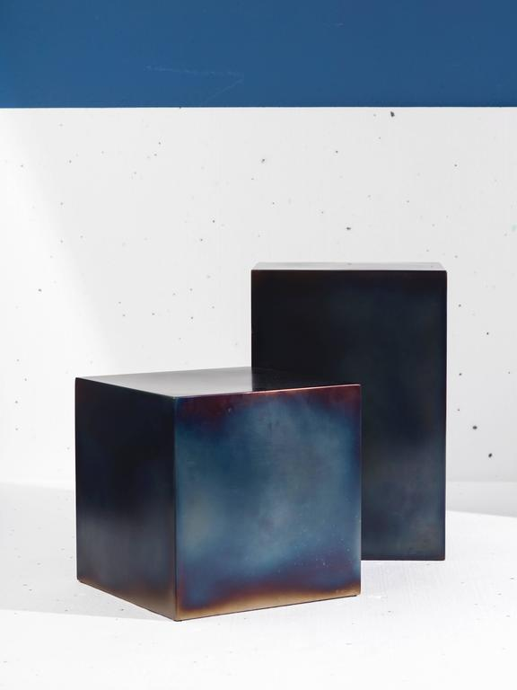 Candy cube metal for sale at 1stdibs - Cube metal rangement ...