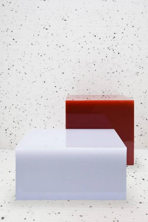 Candy Cube Side Table by Sabine Marcelis, Grey 3