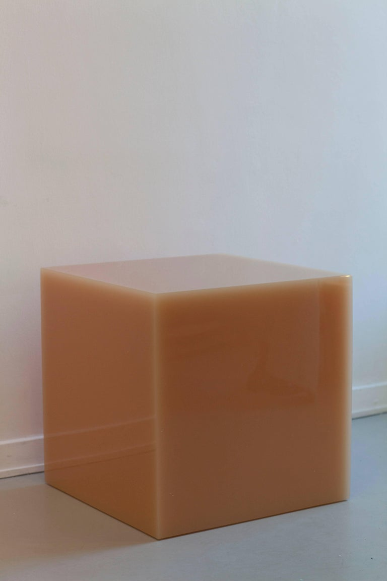 "Candy Cube in ""Tomato"" Side Table 4"