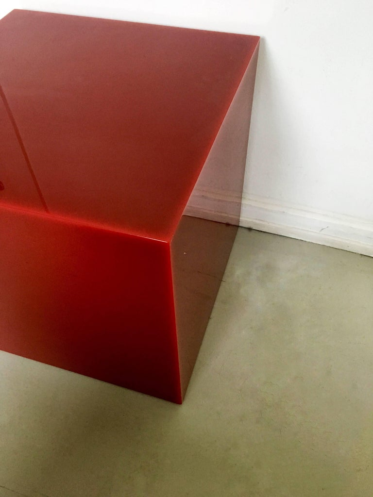 Post-Modern Candy Cube by Sabine Marcelis, Side Table, 50 cm2 For Sale