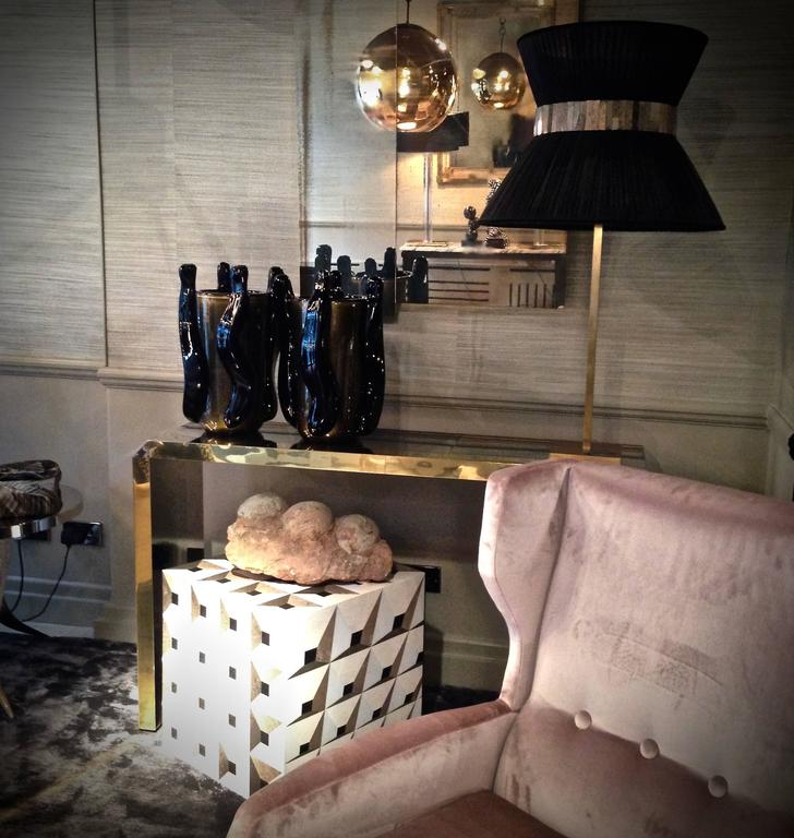 rue monsieur paris moonlight kaleidoscope cube side table at 1stdibs. Black Bedroom Furniture Sets. Home Design Ideas