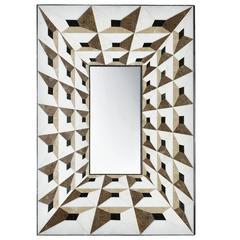 Venetian Love Mirror, Marble Marquetry