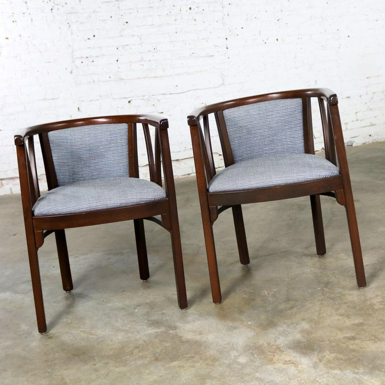 Pair of Art Deco Bauhaus Style Bistro Side Armchairs by Loewenstein-Oggo For Sale 3
