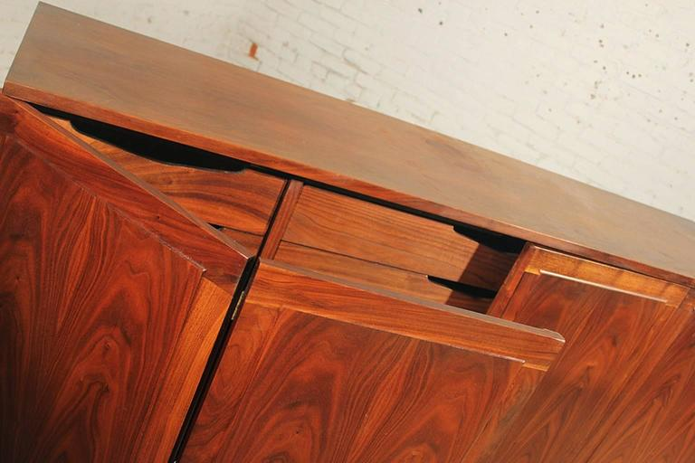 Honduran Rosewood Bookmatched Cabinet By Jack Cartwright For - Cartwright furniture