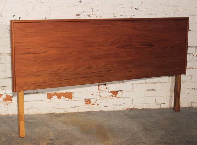 Simple But Elegant Danish Modern Teak Queen Size Headboard This Vintage Most
