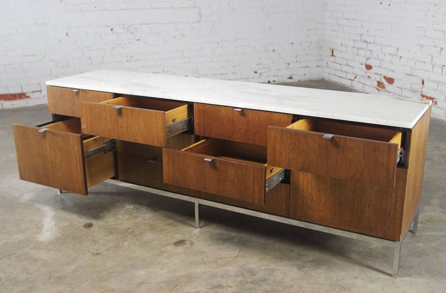 Florence Knoll Multi Drawer Credenza By Knoll Associates