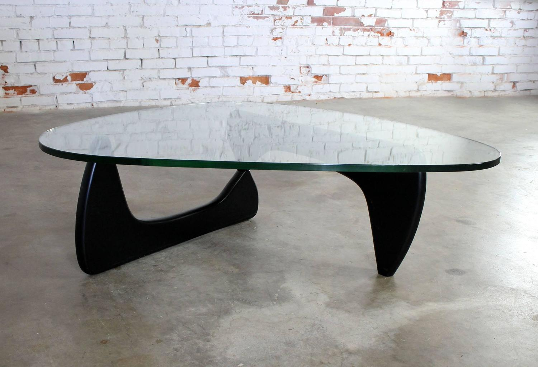 Vintage Noguchi Coffee Table In Black For Sale At 1stdibs