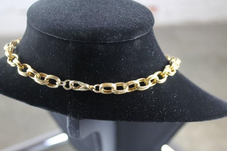 Metal Vintage Gem-Craft Bejeweled Starfish Bib Necklace, Signed CRAFT © For Sale
