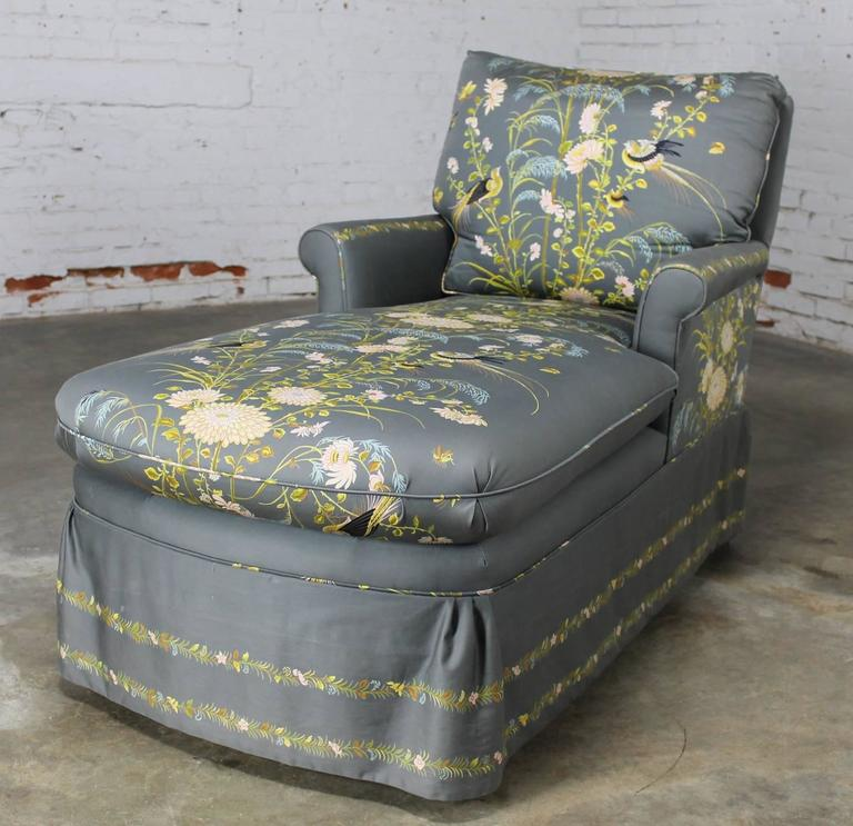 Vintage 1940s double armed chaise longue newly for Chaise 1940