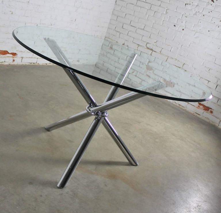 Century Of Modern Jacks Baughman Chrome Dining Mid Tripod In Style Milo Table vYyf6b7g