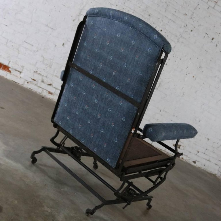 Marks Adjustable Folding Chair Company Campaign Style Invalid Deck Chair For Sale 3