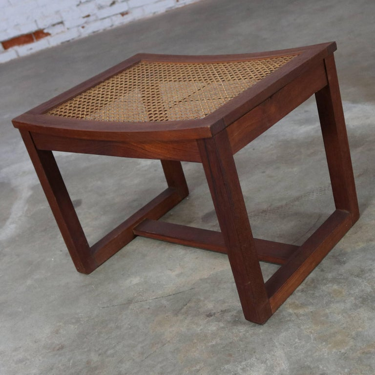 how to make a midcentury modern bench