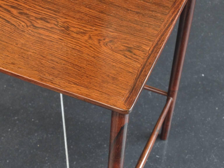 20th Century Danish 1960s Rosewood Nest of Tables by Kai Winding for Poul Jepessen For Sale