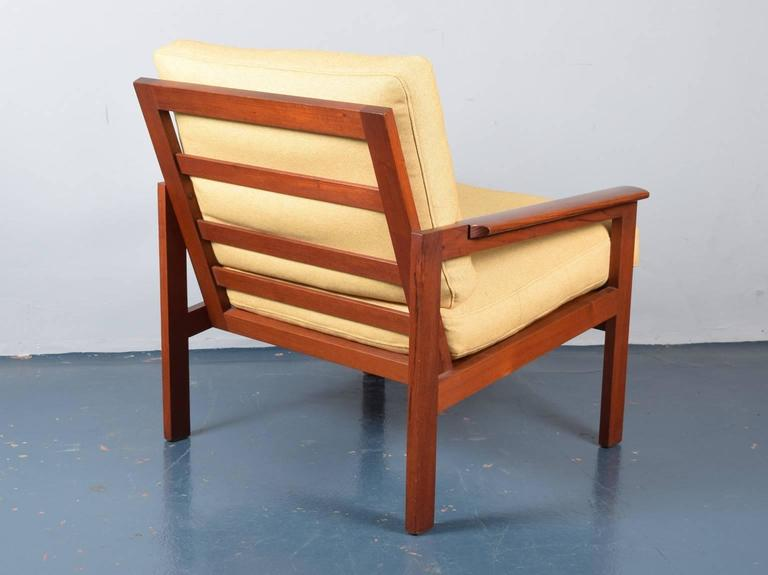 Illum Wikkelso Teak Capella Lounge Chair At 1stdibs