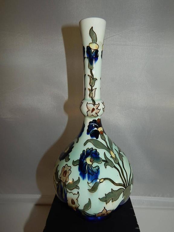 European Rozenburg DenHaag Art Nouveau Vase, Late 19th Century For Sale