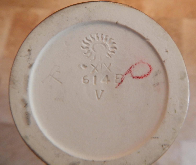 Rookwood Pottery Scenic Vellum Vase 1919 Fred
