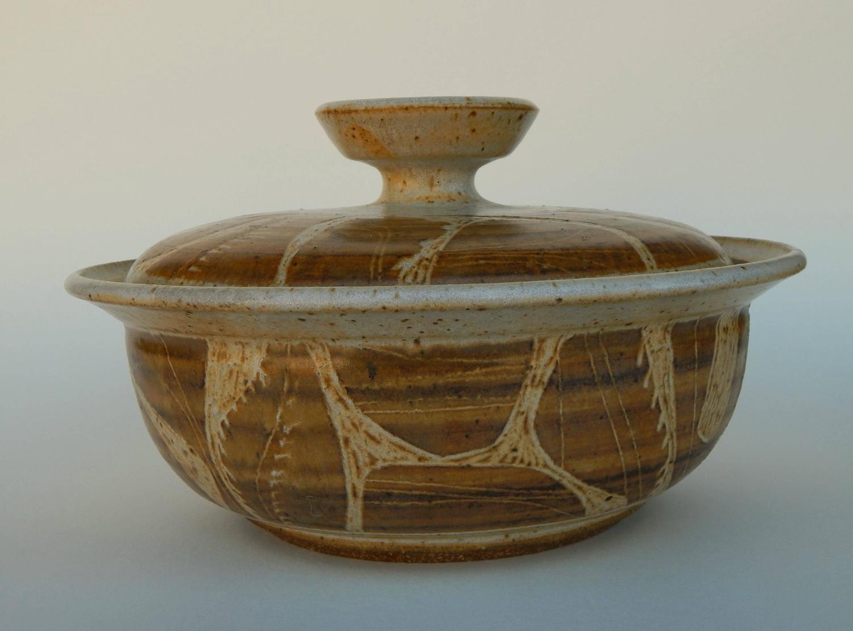 Joel Edwards Lidded Vessel California Studio Pottery For