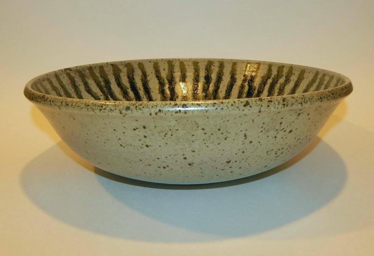 California Studio Potter and Teacher Antonio Prieto Ceramic Bowl, 1950s 2