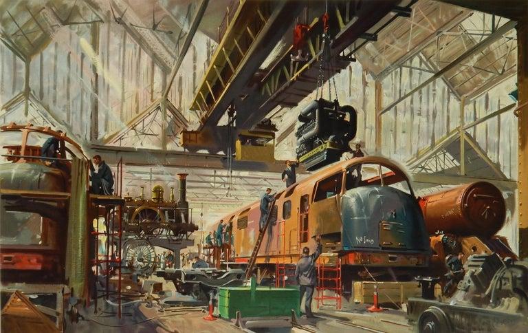 Original vintage British Railways advertising poster