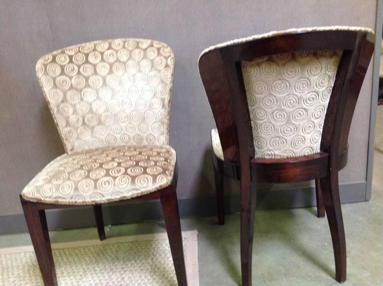 set of six art deco rosewood dining chairs 5 art deco rosewood dining