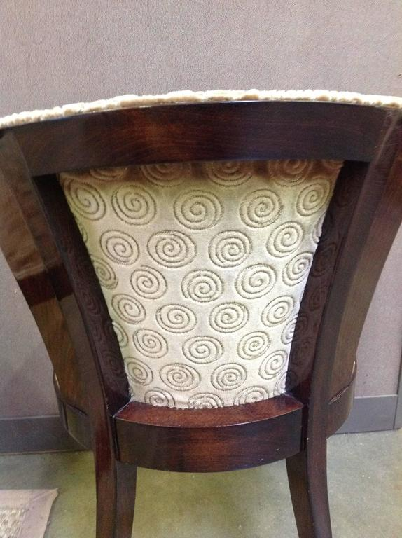set of six art deco rosewood dining chairs 4 art deco rosewood dining