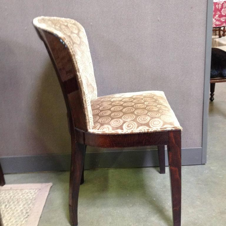 set of six art deco rosewood dining chairs 3 art deco rosewood dining