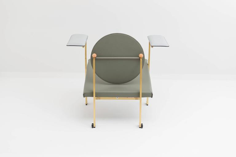 Hand-Crafted Mario Milana Mm1 Lounge Chair For Sale