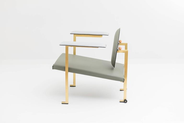 Modern Mario Milana Mm1 Lounge Chair For Sale