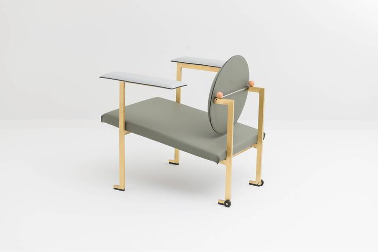 Italian Mario Milana Mm1 Lounge Chair For Sale